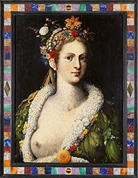 Arcimboldo: dos pinturas de Flora