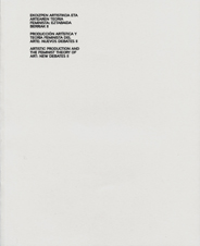 Producción artística y teoría feminista del arte: nuevos debates II